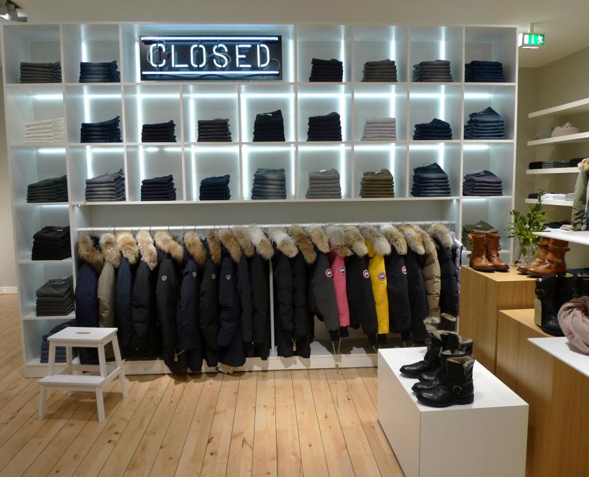 closed shop innenausbau